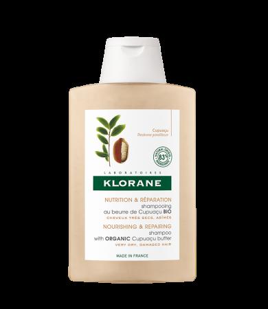 Klorane Σαμπουάν Θρέψης & Επανόρθωσης για Ξηρά Μαλλιά με Βούτυρο Cupuacu 200ml