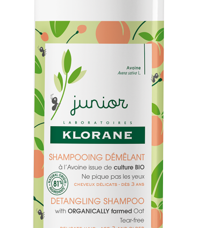 Klorane Junior Σαμπουάν με Άρωμα Ροδάκινο για Ξέμπλεγμα 500ml
