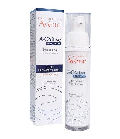 Avene A-Oxitive Κρέμα Νύχτας με Δράση Peeling για Λάμψη και Λείανση 30ml