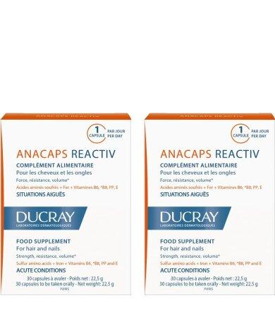 Ducray Promo Duo Anacaps Reactiv 2x30caps