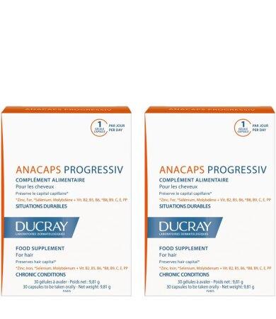 Ducray Promo Duo Anacaps Progressiv 2x30caps