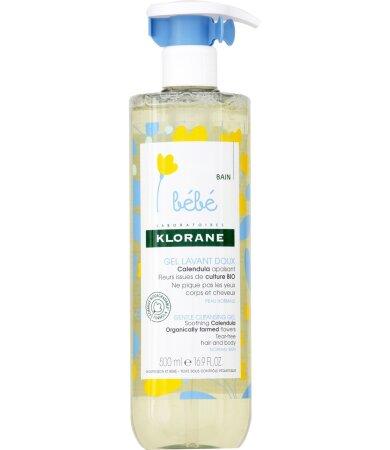 Klorane Bebe Gel Lavant Doux Απαλό Τζελ Καθαρισμού, 500ml