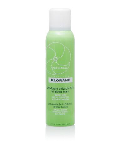 Klorane Deodorants Απαλό αποσμητικό με λευκή αλθέα
