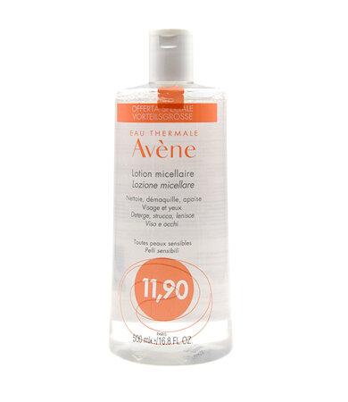 Avene Lotion Micellaire Απαλή Λοσιόν Καθαρισμού για Πρόσωπο, Μάτια και Χείλη 500ml
