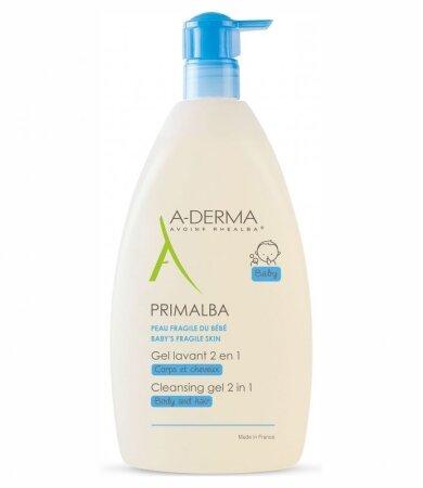 A-Derma Primalba Gel Lavant Douceur, Καθαρισμός για το Ευαίσθητο Βρεφικό Δέρμα 500ml