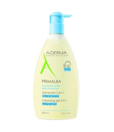 A-Derma Primalba Gel Καθαρισμού για το Ευαίσθητο Βρεφικό Δέρμα 500ml