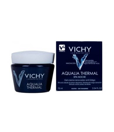 Vichy Aqualia Spa Nuit Ενυδατική Φροντίδα Νυκτός και Μάσκα σε 1,75ml