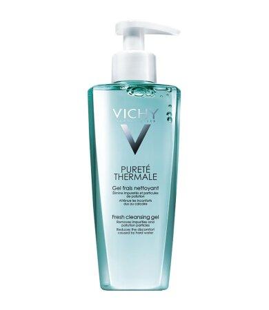 Vichy Purete Thermale Gel Frais Nettoyant Δροσερό Gel Καθαρισμού Κατάλληλο για Ευαίσθητες Επιδερμίδες 200ml