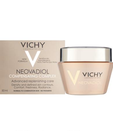 Vichy Neovadiol Compansating Complex, Συμπλοκο Αναπλήρωσης στην Εμμηνόπαυση, Ξηρές Επιδερμίδες 50ml