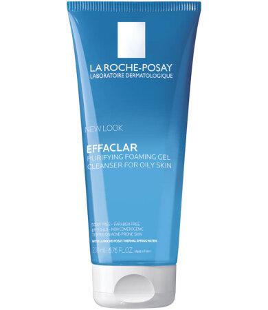 La Roche Posay Effaclar Gel, Ζελ Καθαρισμού για Λιπαρό Ευαίσθητο Δέρμα, Απομακρύνει το Σμήγμα 200ml