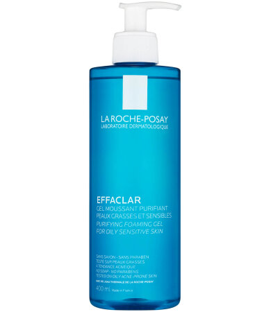 La Roche Posay Effaclar Gel Moussant Purifiant, Zελ Καθαρισμού για Μικτή - Λιπαρή Επιδερμίδα 400ml
