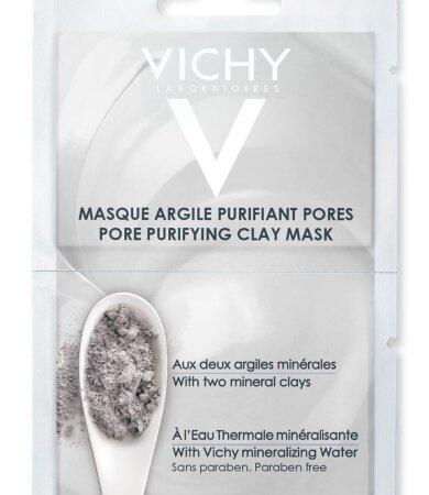 Vichy Μάσκα Αργίλου για Καθαρισμό και Σύσφιξη των Πόρων 2 x 6ml
