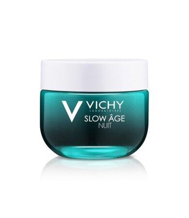 Vichy Slow Age Night Δροσερή Κρέμα & Μάσκα Νυχτός Αντιγηραντική 50ml
