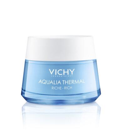 Vichy Aqualia Thermal Rich Rehydrating Cream Πλούσια Κρέμα 48h Eνυδάτωσης για Ξηρή/Πολύ Ξηρή επιδερμίδα 50ml