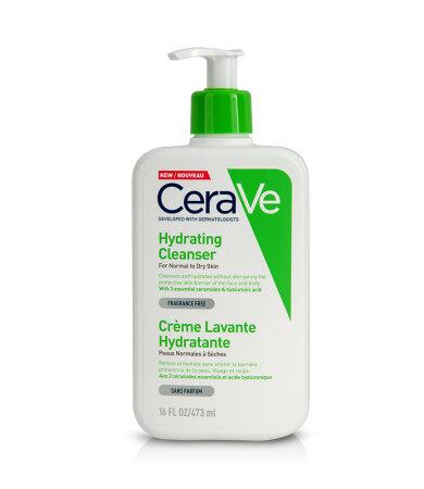 CeraVe Hydrating Cleanser Κρέμα Καθαρισμού Προσώπου & Σώματος 16ΟΖ 473ml