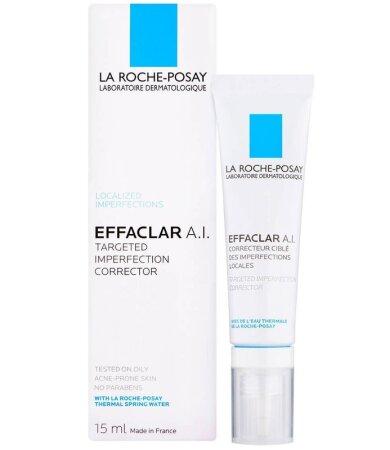 La Roche Posay Effaclar A.I. 15 ml - Κρέμα προσώπου κατά των τοπικών ατελειών