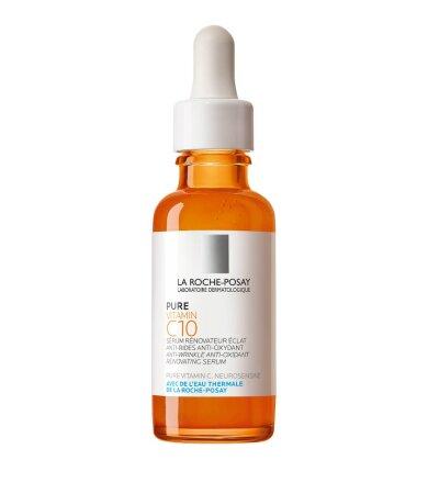 La Roche Posay Pure Vitamin C10 Serum Αντιοξειδωτικός, Αντιρυτιδικός, Αναζωογονητικός Ορός με Βιταμίνη C 30ml