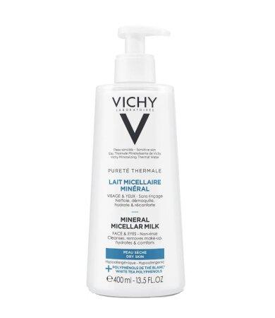 Vichy Purete Thermale Mineral Micellar Milk Γαλάκτωμα Micellaire για Πρόσωπο & Μάτια 400ml
