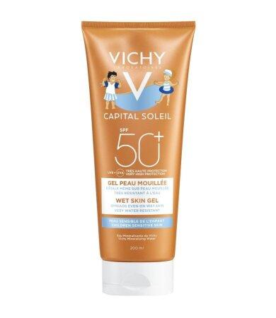 Vichy Capital Soleil Παιδικό Αντιηλιακό Wet Skin Gel SPF50+ 200ml