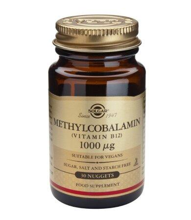Solgar Vitamin B12 1000μg Methylcobalamin 30nuggets