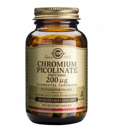 Solgar Chromium Picolinate 200Mcg Veg.Caps 90s