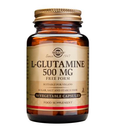 Solgar L-Glutamine 500mg 50veg.caps