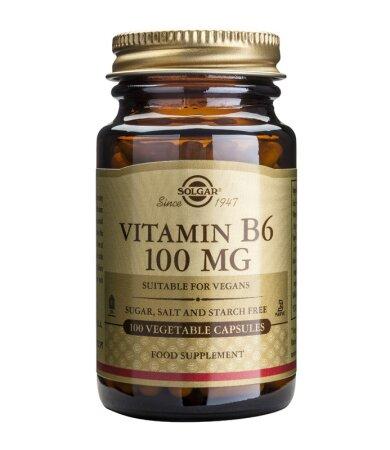 Solgar Vitamin Β6 100mg 100tabs