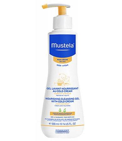 Mustela Gel Lavant au Cold Cream Καθαριστικό Τζελ για θρέψη με Cold cream, για σώμα & μαλλιά 300ml