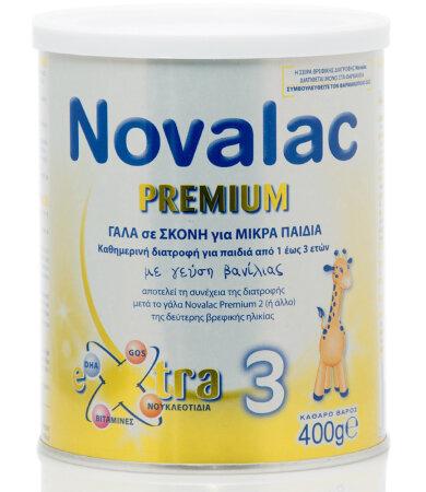 Novalac Premium 3, Γάλα από 1 Έτους 400gr