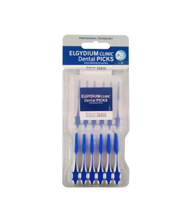Elgydium Clinic Dental Picks 36 τεμάχια
