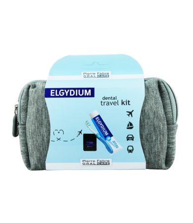Elgydium Travel Kit Gray