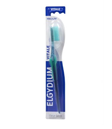 Elgydium Vital Medium Οδοντόβουρτσα Μέτρια 1τεμάχιο