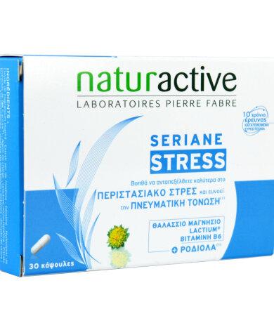 Naturactive Seriane Stress Συμπλήρωμα Διατροφής για την αντιμετώπιση του Άγχους, 30 caps