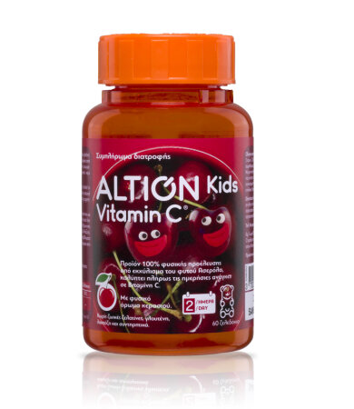 Altion Kids Vitamin C - 60 ζελεδάκια