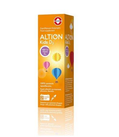 Altion Kids D3 400IU για Βρέφη και Παιδιά 20ml