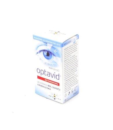 Uplab Optavid Eye Drops Οφθαλμικές Σταγόνες Για Ενυδάτωση 10ml