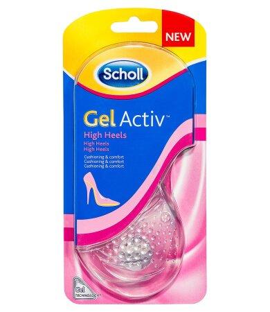 Scholl Gel Activ Extreme Heels, Πάτοι για Ψηλοτάκουνα Παπούτσια Νο 35-40.5 1 Ζευγάρι