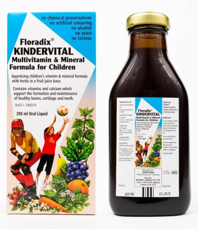 Power Health Floradix Kindervital Σιρόπι για Παιδιά 250ml
