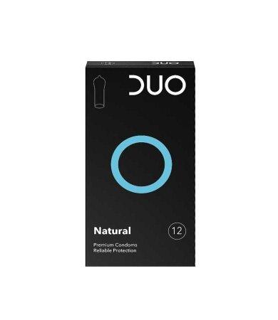 Duo Natural Προφυλακτικά Κανονικά 12 τεμάχια