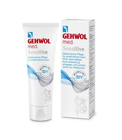 Gehwol Med Sensitive, Κρέμα Ειδικής Φροντίδας για το Ευαίσθητο Δέρμα των Ποδιών 75ml