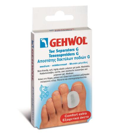 Gehwol Toe Separators G Medium Αποστάτης Δακτύλων Ποδιών G 3τεμάχια