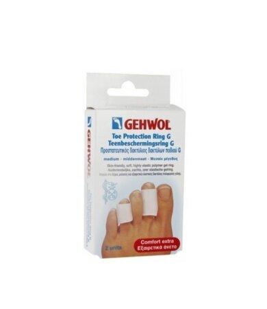 Gehwol Toe Protection Ring G Medium, Προστατευτικός Δακτύλιος Δακτύλων Ποδιού G Μεσαίος 2τεμάχια