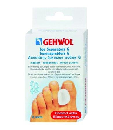 Gehwol Toe Divider GD Medium Διαχωριστής Δακτύλων Ποδιών GD 3τεμάχια