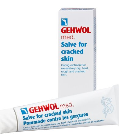 Gehwol Med Salve for Cracked Skin Αλοιφή για Σκασίματα 75ml