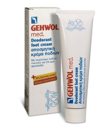 Gehwol Med Deodorant Foot Cream Αποσμητική Κρέμα Ποδιών 75ml