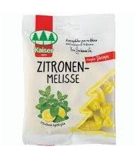 Kaiser Zitronen-Melisse 60gr (Καραμέλες για Βήχα με Μελισσόχορτο & 13 Βότανα)