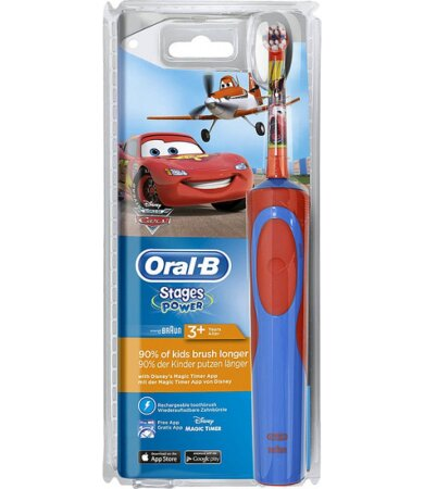 Oral B Vitality Kids Stages Power Ηλεκτρική Οδοντόβουρτσα Cars για Αγόρι 3 Ετών+