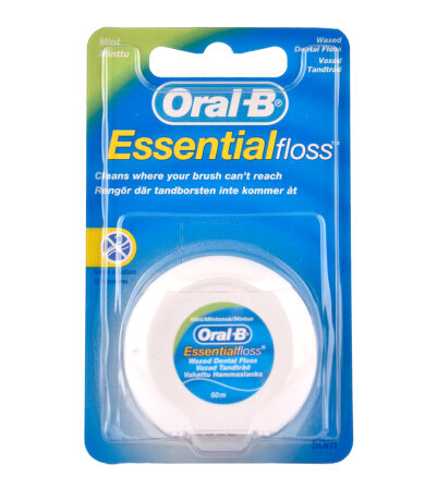 Oral Β Essential Floss Waxed Mint 50m