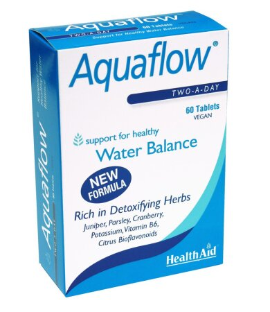 Health Aid Aquaflow Vegetarian Blister, Φυτικό Διουρητικό, 60 Tablets