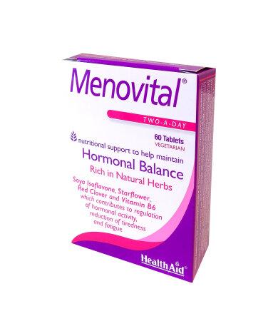Health Aid Menovital Hormonal Balance Συμπλήρωμα για την Εμμηνόπαυση 60Tabs